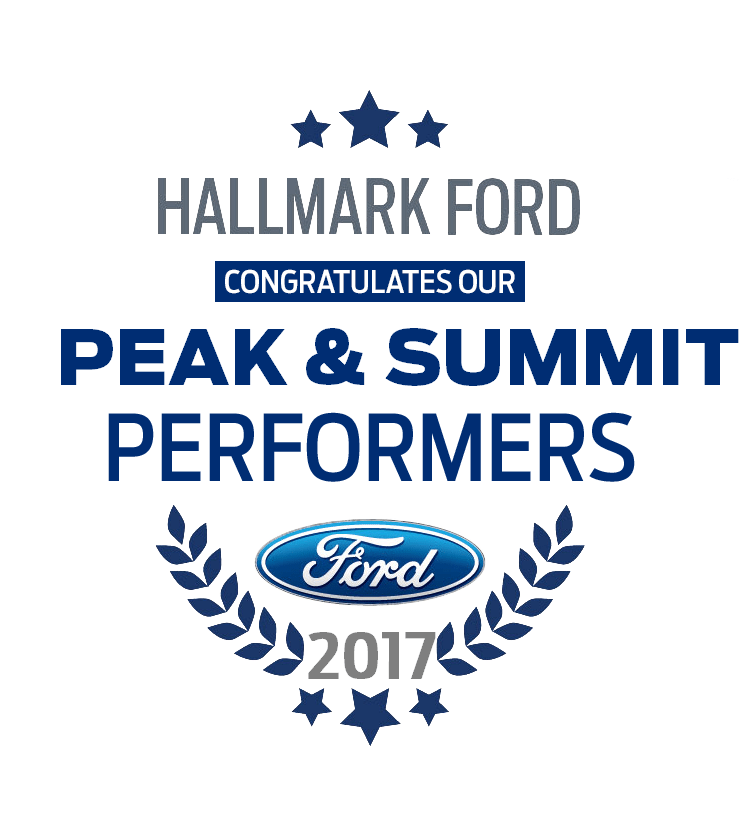 2017 Summit Achievers & Peak Performers Hallmark Ford