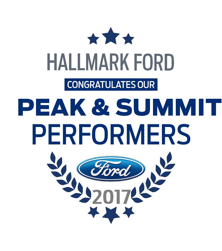 2017 Summit Achievers & Peak Performers Hallmark Ford