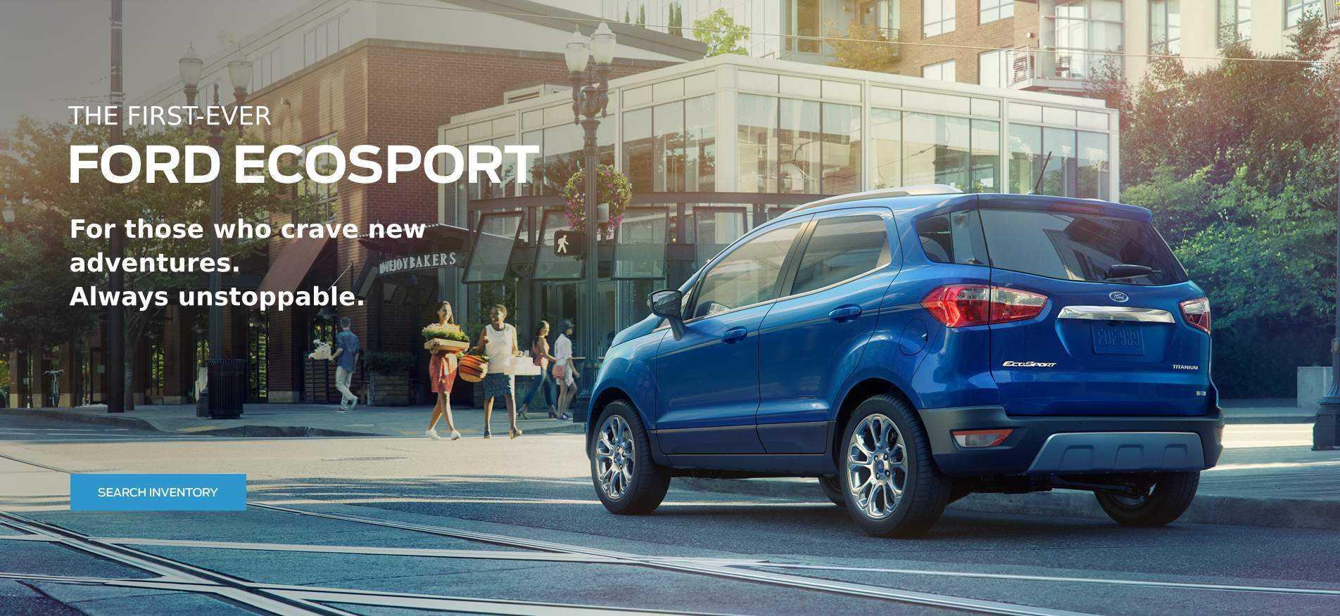 All-New 2018 EcoSport Glenaok Ford Victoria