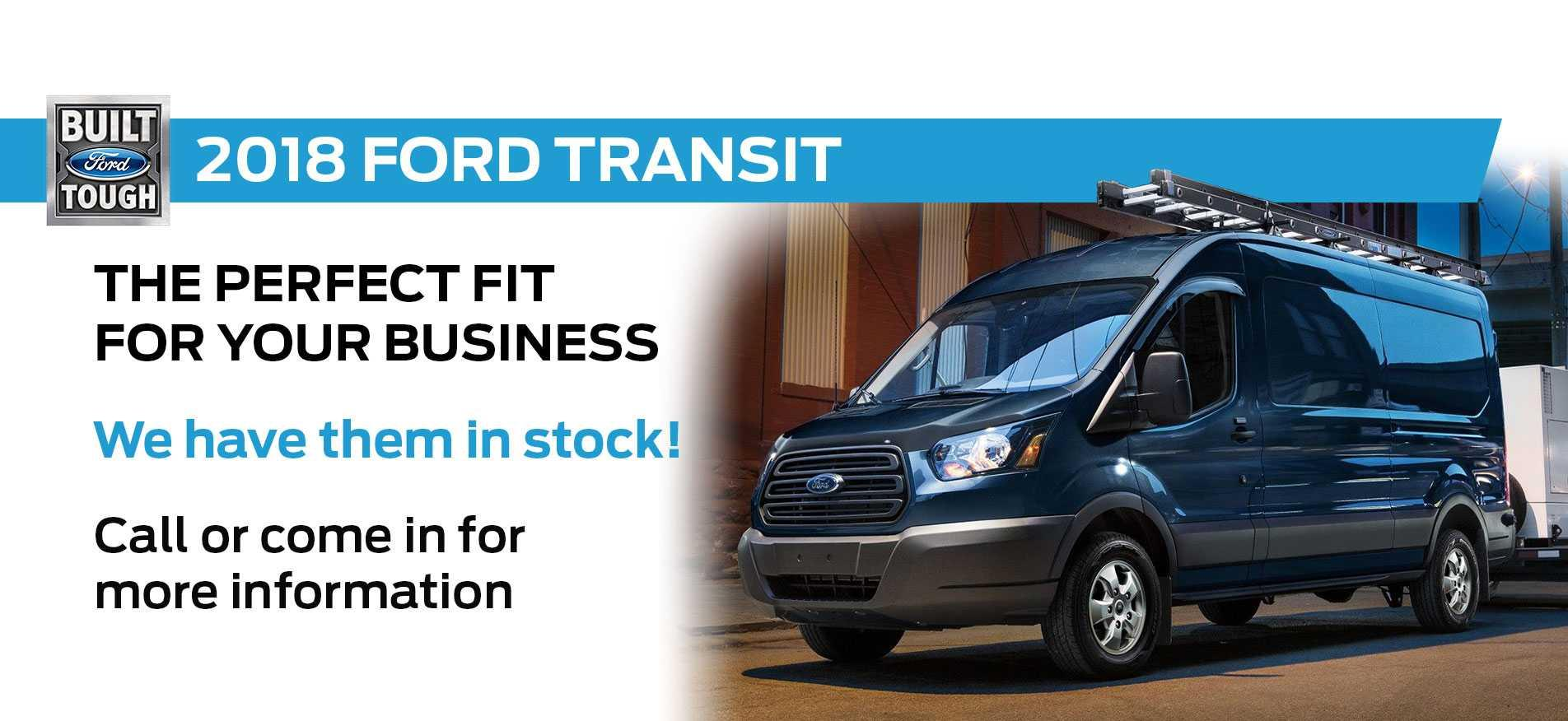 2018 Transit in Stock