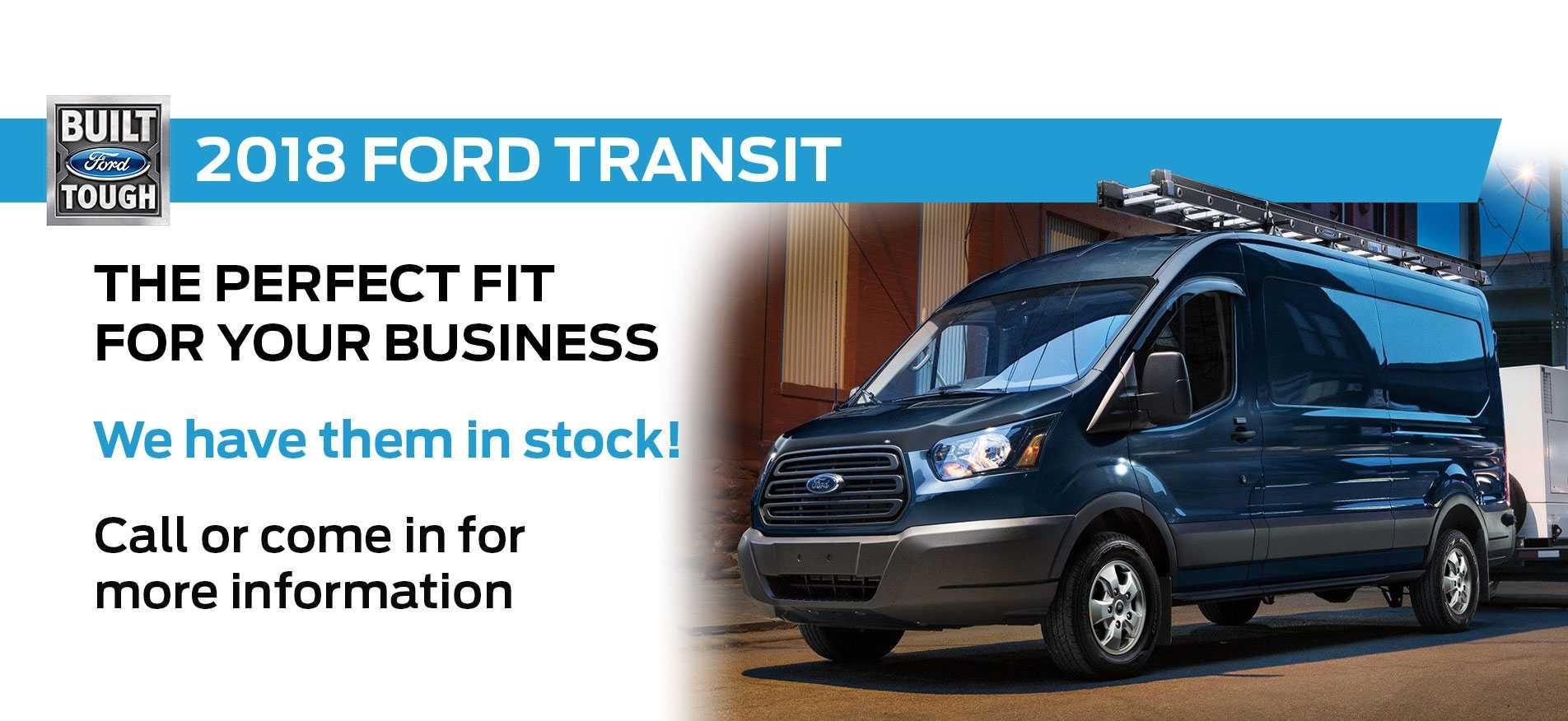 2018 Transit in Stock