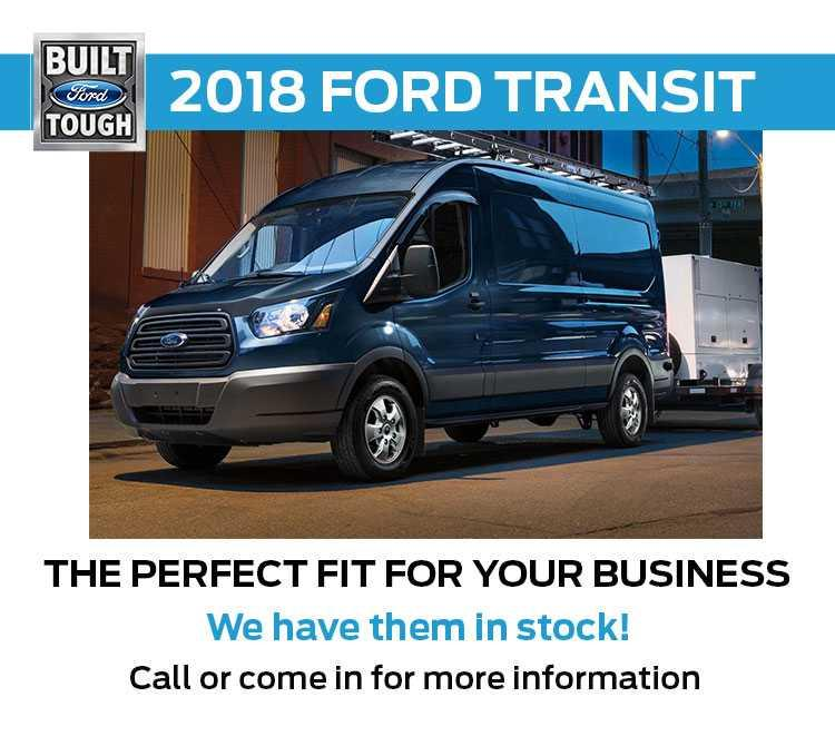 2018 Transit in stock!