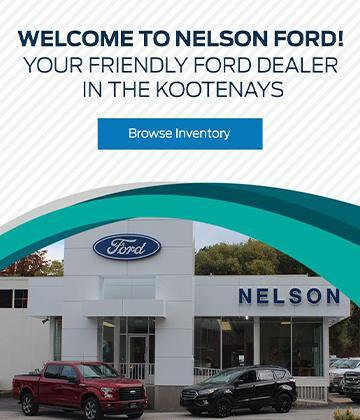 New & Used Ford Cars, Trucks & SUVs Dealership in Nelson, BC