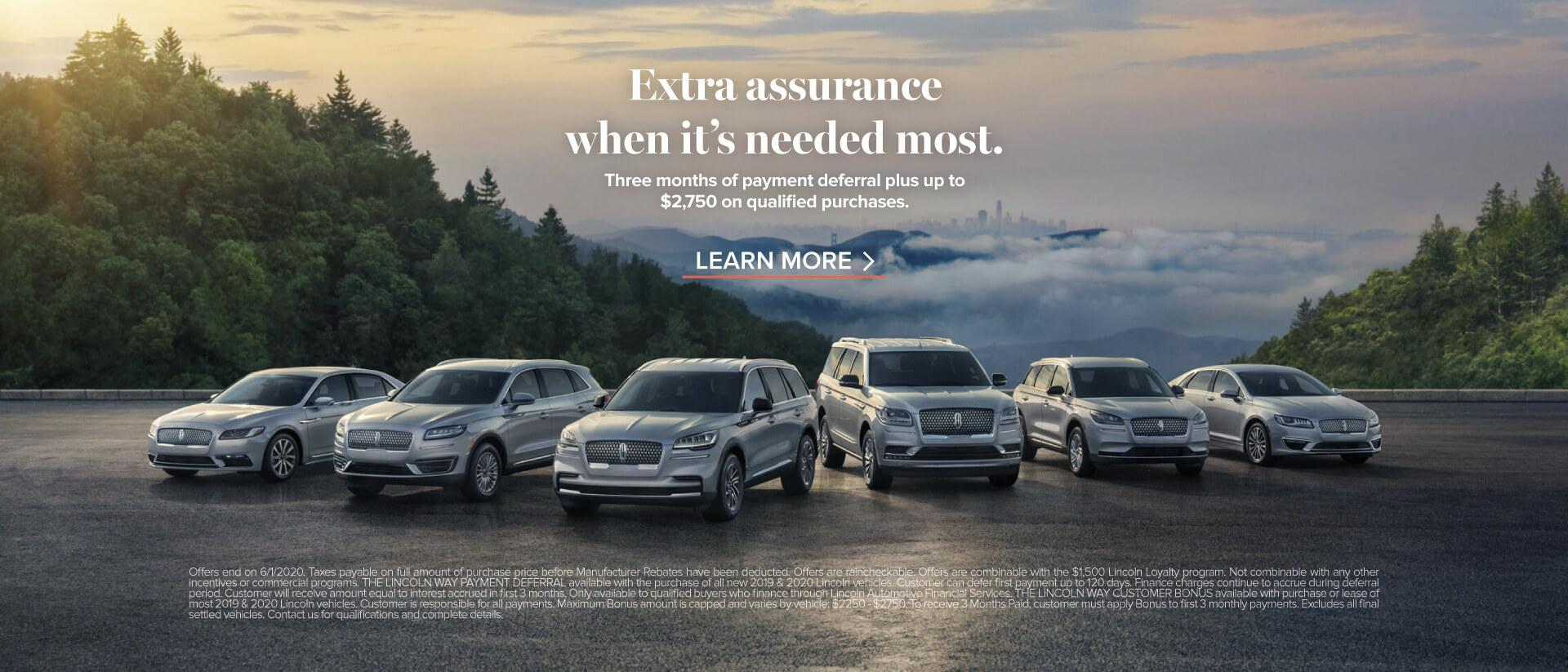 Extra Assurance When It's Needed Most | Lincoln of Canada | Dupuis Lincoln