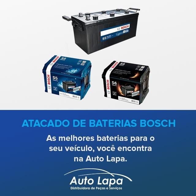 Auto Lapa Bosch - Baterias