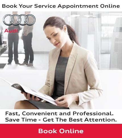 Audi Uptown Service Booking