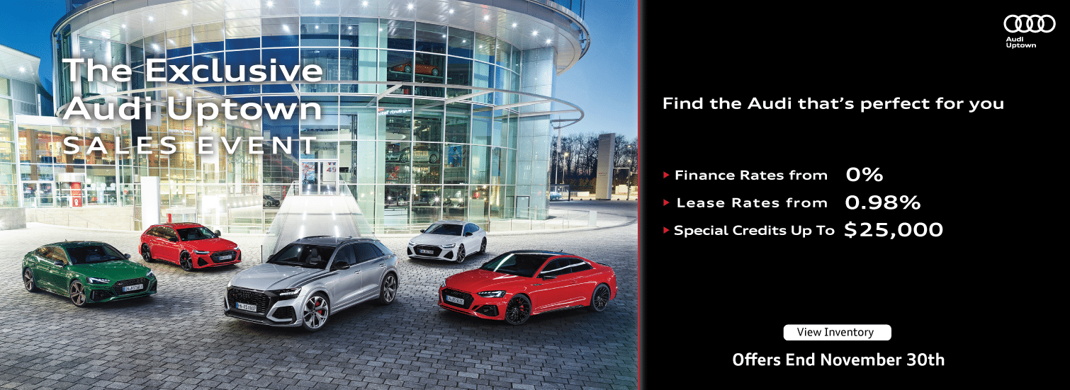 Audi Uptown Exclusive Sales Event