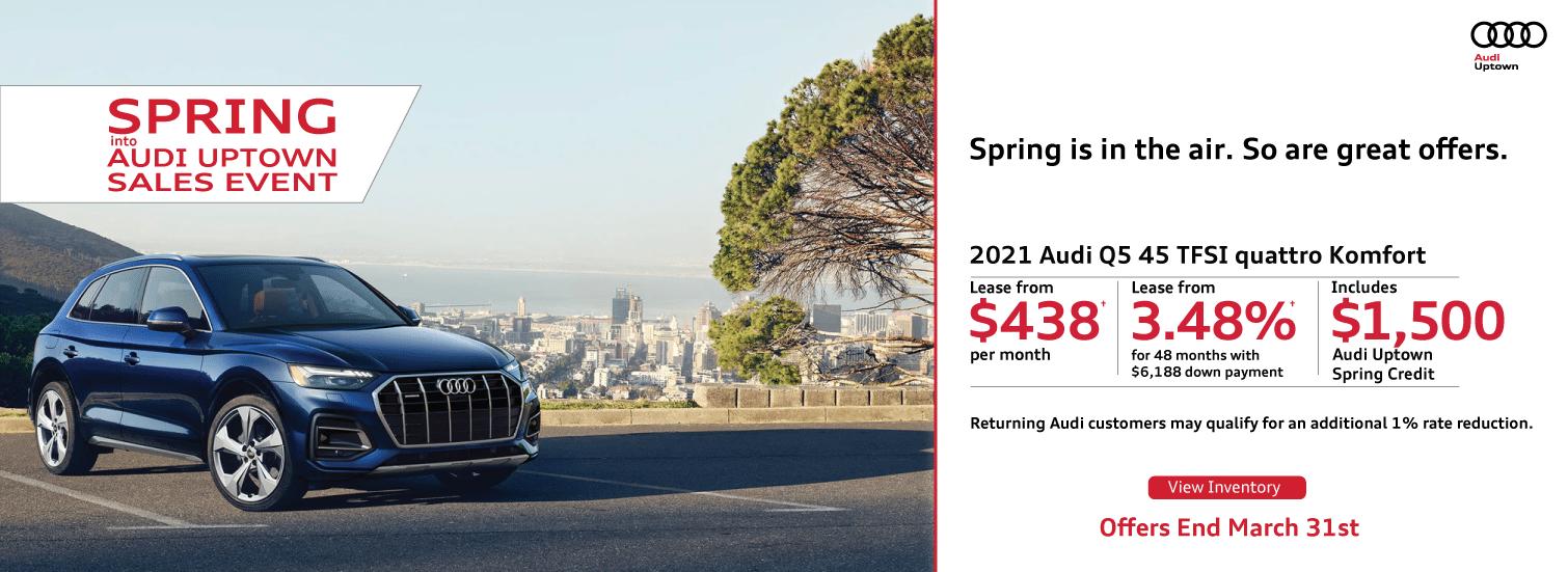 Audi Uptown Spring Event Q5