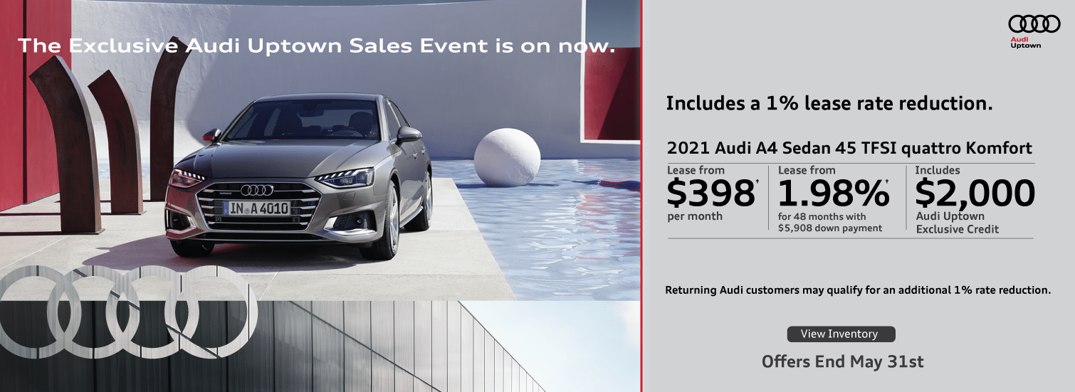 Exclusive Audi Uptown A4 Offer