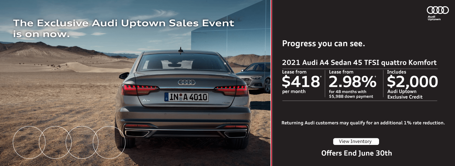 Audi Uptown Exclusive Event A4