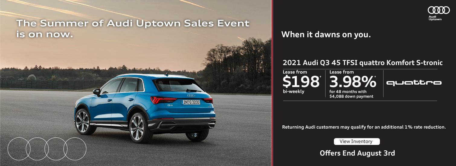Summer of Audi Uptown Q3