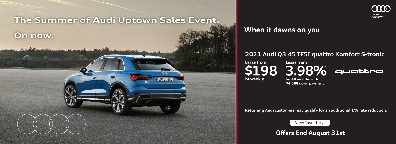 Audi Uptown Summer Event Q3