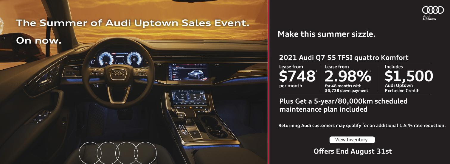 Audi Uptown Summer Event Q7