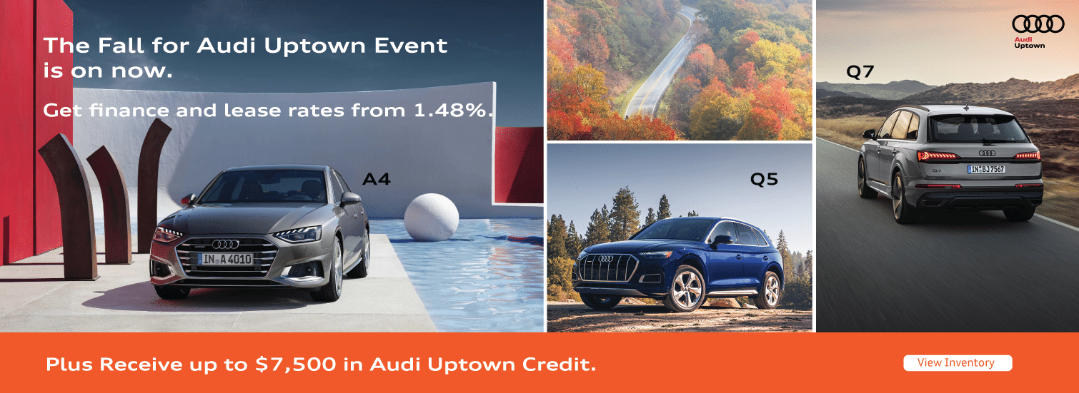 Fall for Audi Uptown Event