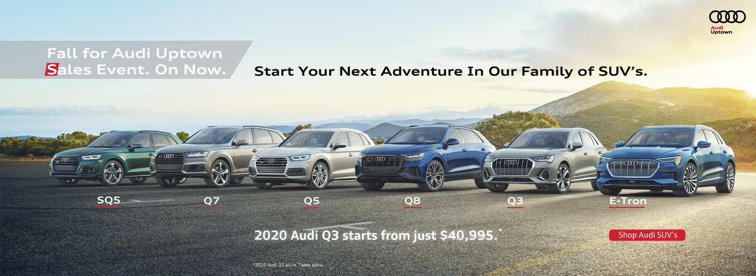 Audi Uptown SUV Family