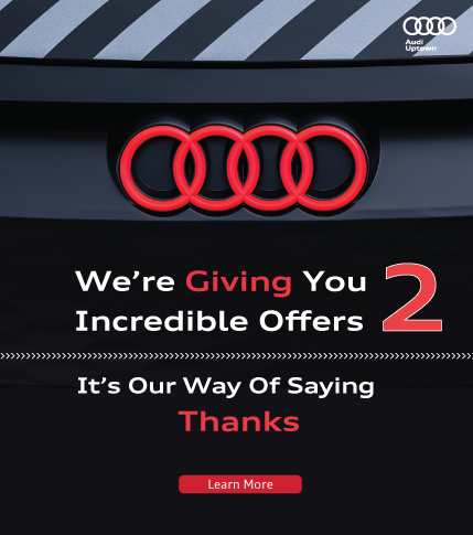 Audi Uptown Service and Parts Amazing Offer