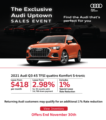 Audi Uptown Exclusive Q3