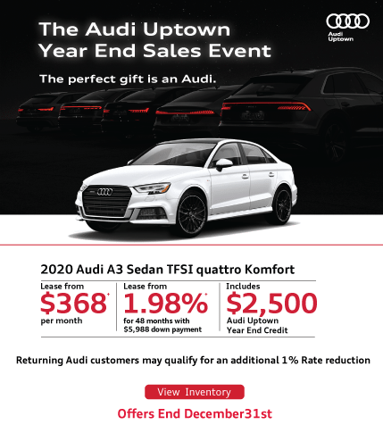Audi Uptown Year End A3