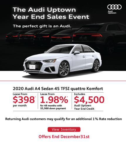 Audi Uptown Year End A4