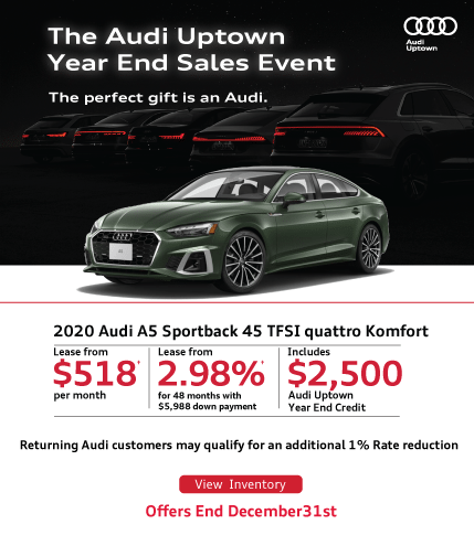 Audi Uptown Year End A5 Sportback
