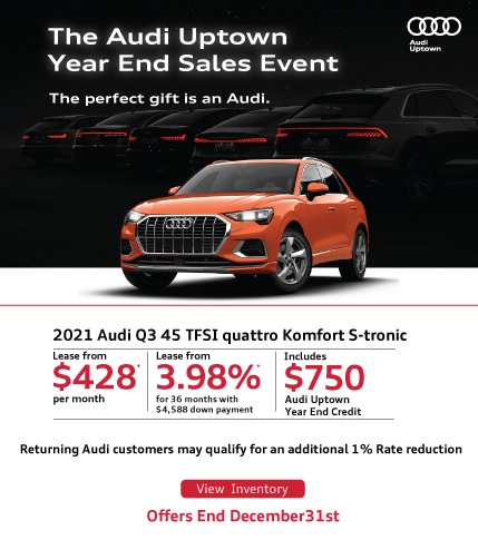 Audi Uptown Year End Q3