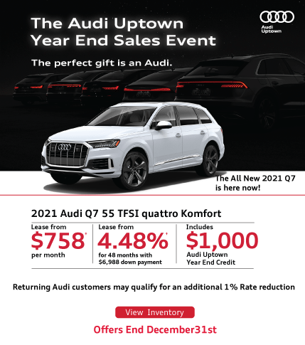Audi Uptown Year End Q7