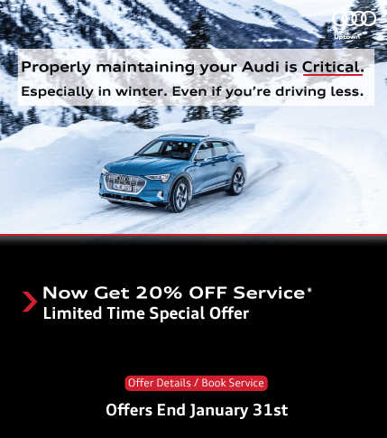 Audi Uptown Winter Service Offer and Tires