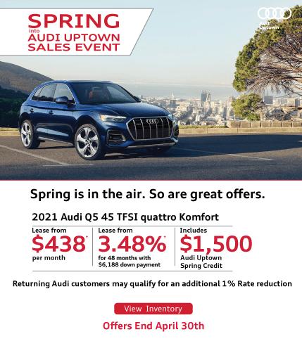 spring into Audi Uptown Q5