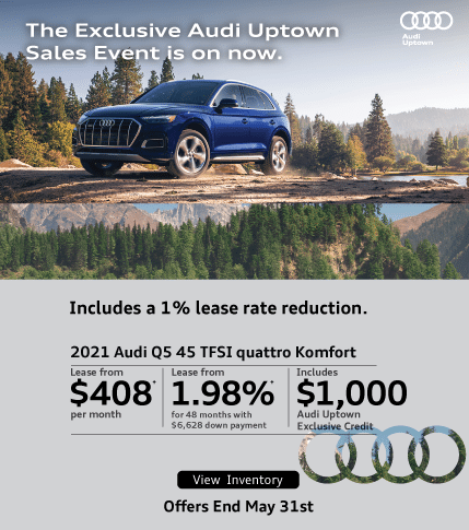 Exclusive Audi Uptown Q5 offer