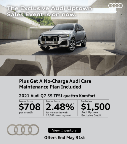 Exclusive Audi Uptown Q7 Offer