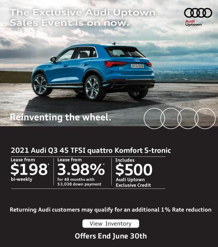 Audi Uptown Exclusive Event Q3
