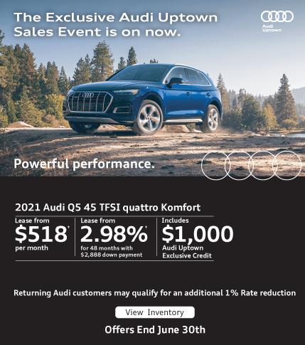 Audi Uptown Exclusive Event Q5