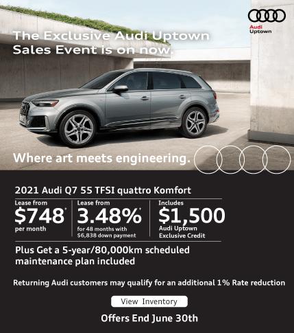 Audi Uptown Exclusive Event Q7