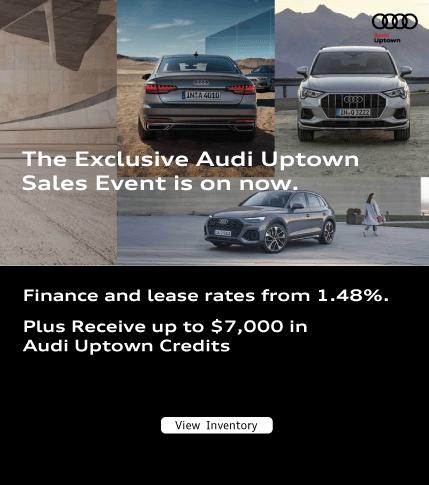 Exclusive Audi Uptown Sales Event June
