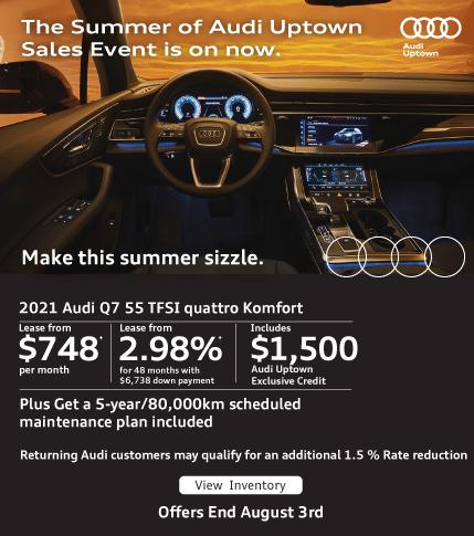 Summer of Audi Uptown Q7