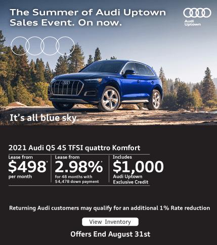 Audi Uptown Summer Event Q5