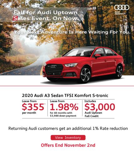 Audi Uptown Fall Event A3