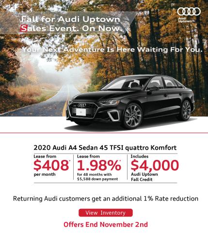 Audi Uptown Fall Event A4