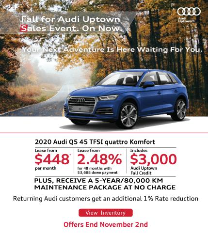 Audi Uptown Fall Event Q5
