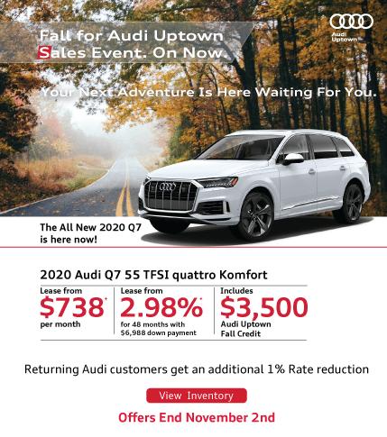 Audi Uptown Fall Event Q7