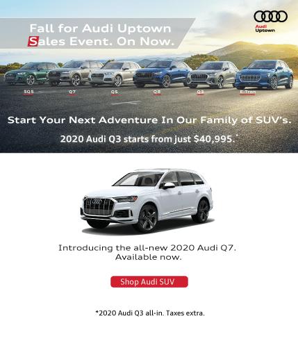Audi Uptown Summer SUV