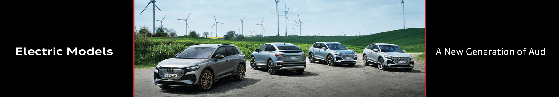 Electric Vehicle Leadership Most Models of any Luxury Brand