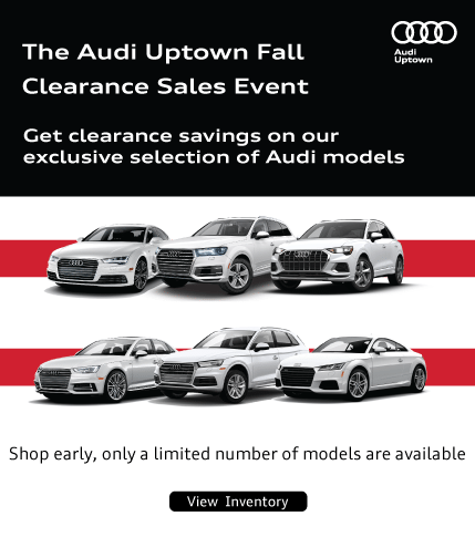 Audi Uptown Exclusive Fall Clearance