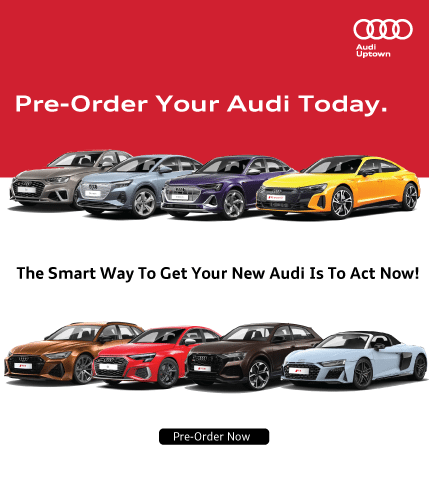 Pre Order Now at Audi Uptown