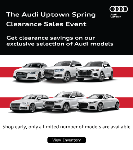 Audi Uptown Exclusive Clearance