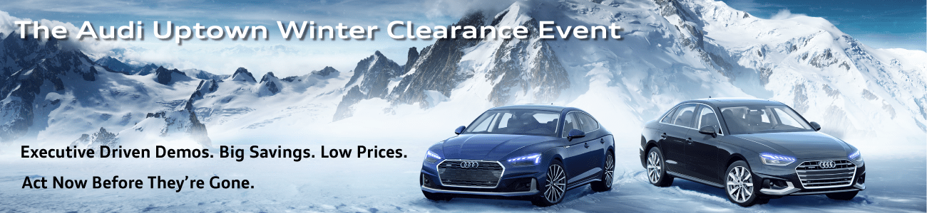 Audi Uptown Winter Clearance