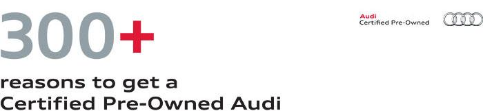 Certified Preowned Overview - Audi certified pre owned warranty review