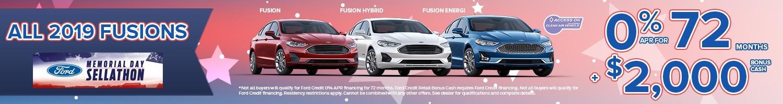 2019 Fusion