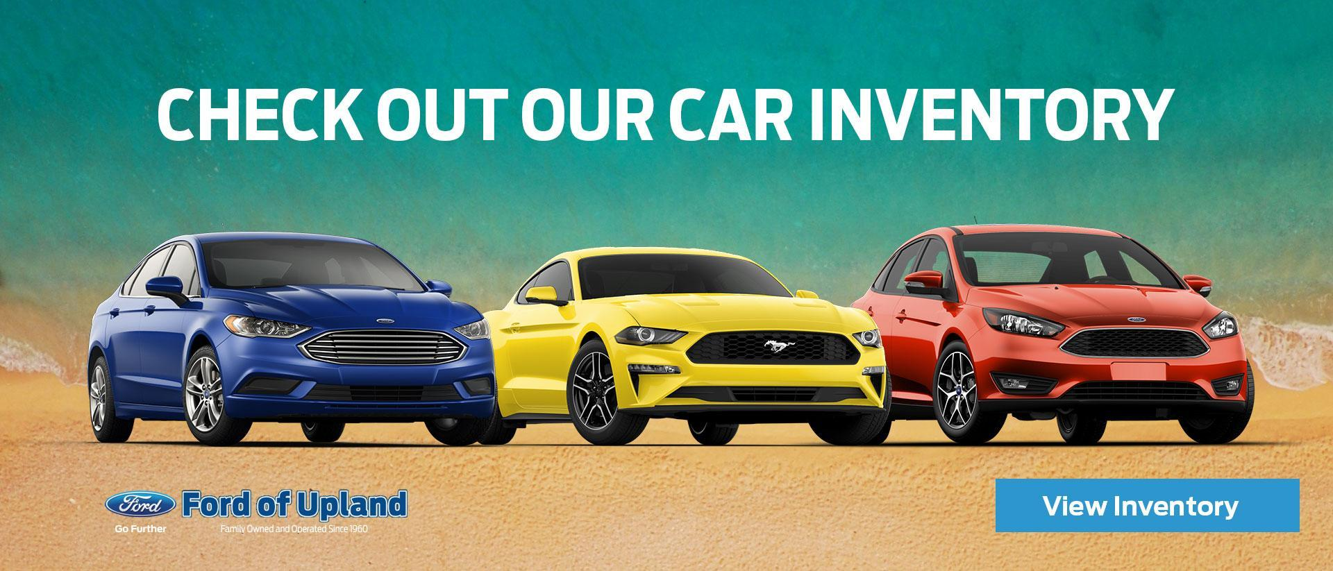 Ford inventory