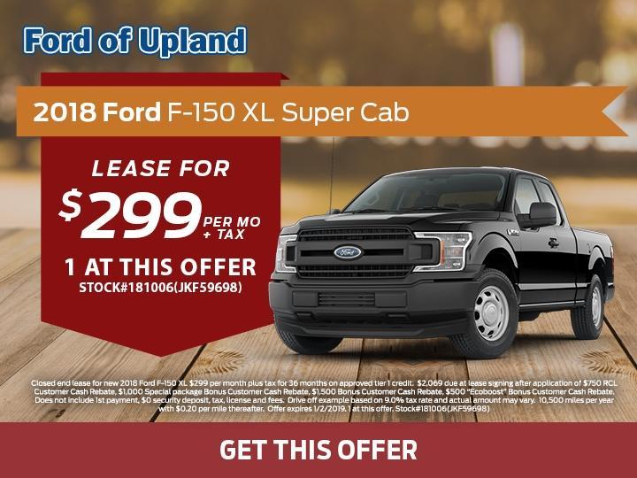 2018 Ford F-150 XL Super Cab